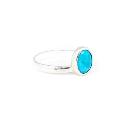 Little Lem Little Lem Bea The Bandit Turquoise Ring
