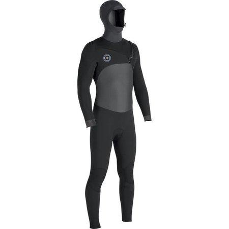 Vissla Vissla 7 Seas 5/4 Heren 50/50 Phantom Hooded Winter Wetsuit