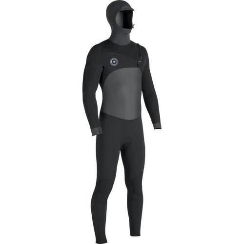 Vissla Vissla 7 Seas 5/4 Heren 50/50 Phantom Hooded Winter Wetsuit