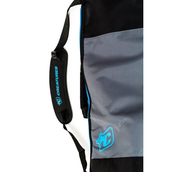 Creatures Shortboard Day Use Boardbag Charcoal/Cyan