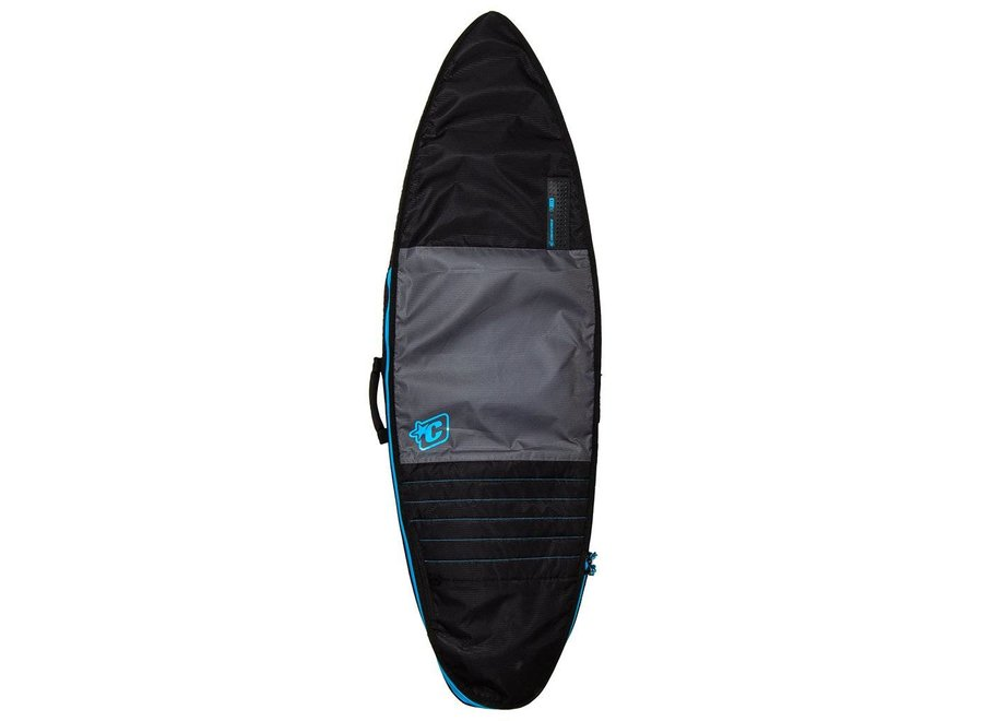 Creatures Shortboard Day Use Boardbag Charcoal/Cyan