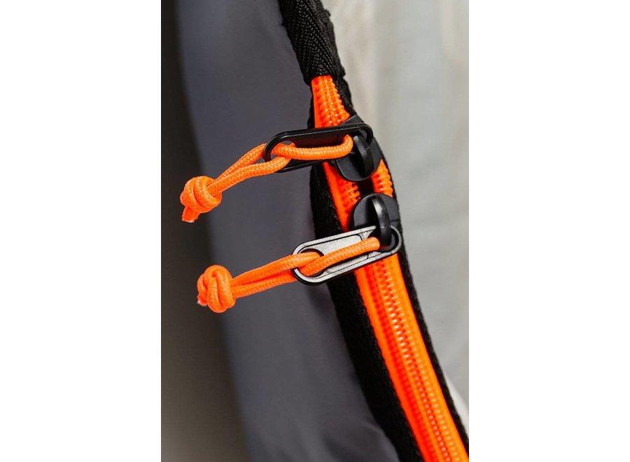 Creatures Lite Fish Boardbag Charcoal/Orange