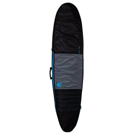 Creatures of Leisure Creatures Day Use Longboard Boardbag Charcoal/Cyan