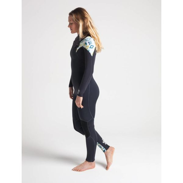 C-Skins ReWired 5/4 Dames Winter Wetsuit Anthracite/Geo