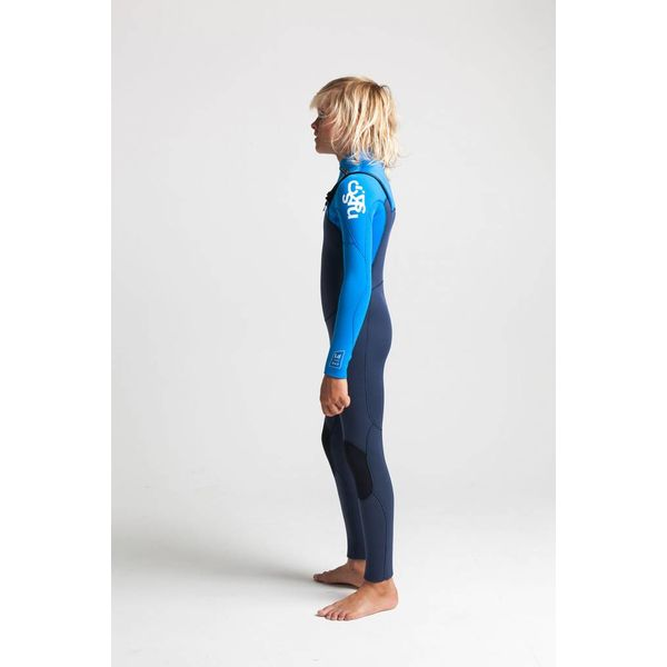 C-Skins Legend 5/4/3 Kinder Bluestone/Cyan/White Winter Wetsuit