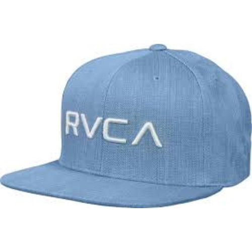 RVCA Twill Snapback III Denim Blue