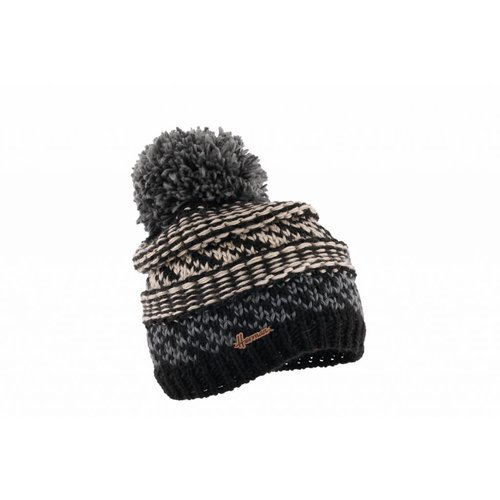 Herman Headwear Herman Justin Black Multi Beanie