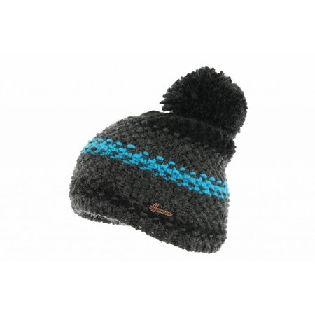 Herman Headwear Herman Justin Zwart/Blauw Multi Muts