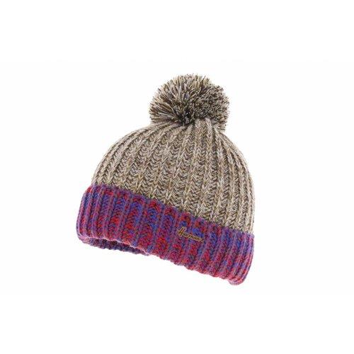 Herman Headwear Herman Justin Brown/Purple Beanie