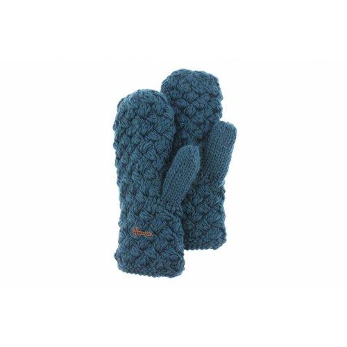 Herman Headwear Herman Justin Blauwe Handschoenen