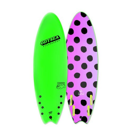 Catch Surfboards Catch Odysea 6'0'' Skipper Quad Polka Dots