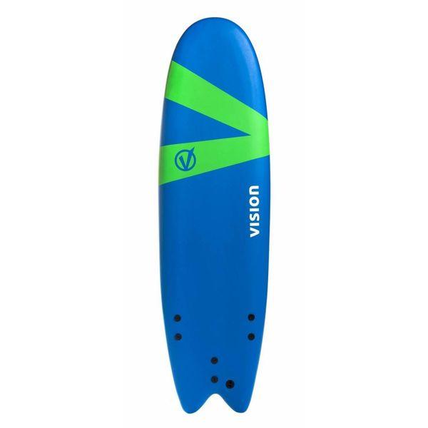 Vision Softlite Royal Blue/Green Swallow Tail 6'6''