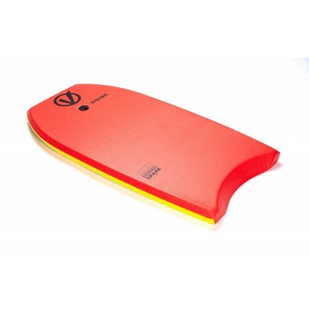 Vision Vision Spark Red/Yellow Bodyboard 36''