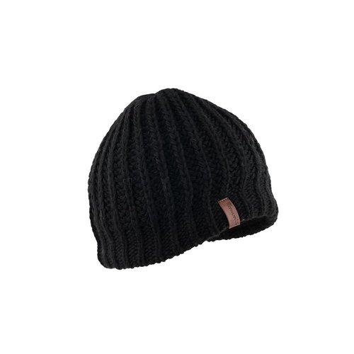 Herman Headwear Herman Edmond Wool Black Beanie