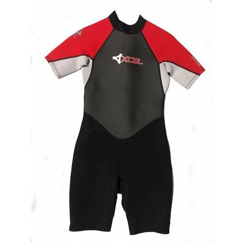 Xcel Xcel GCS 2mm Kids Shorty Rood Wetsuit