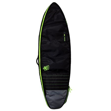 Creatures of Leisure Creatures Shortboard Double Boardbag Charcoal/Lime