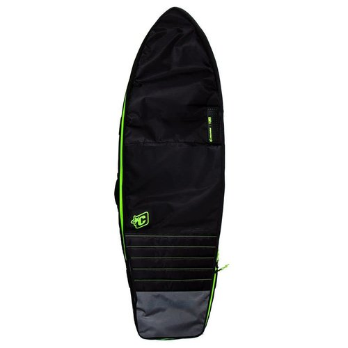 Creatures of Leisure Creatures Fish Double Charcoal/Lime Boardbag