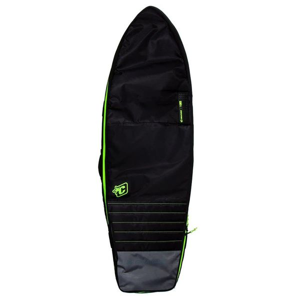 Creatures Fish Double Charcoal/Lime Boardbag