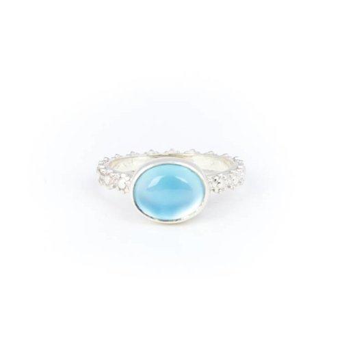 Little Lem Little Lem Fiona The Firecracker Blue Ring