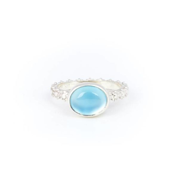 A Little Lem Fiona The Firecracker Blue Ring