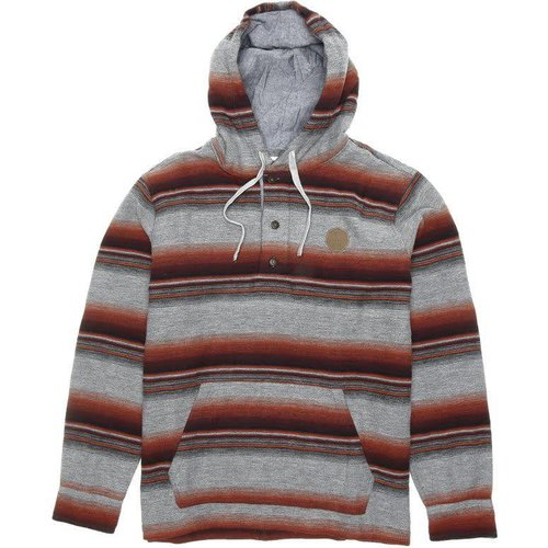 Vissla Vissla El Granada Flannel Grey Heather Hoodie