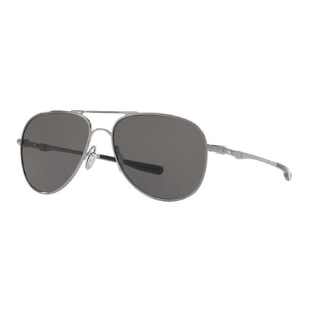 Oakley Oakley Elmont M Polished Chrome Warm Grey Grad Polarized Zonnebril