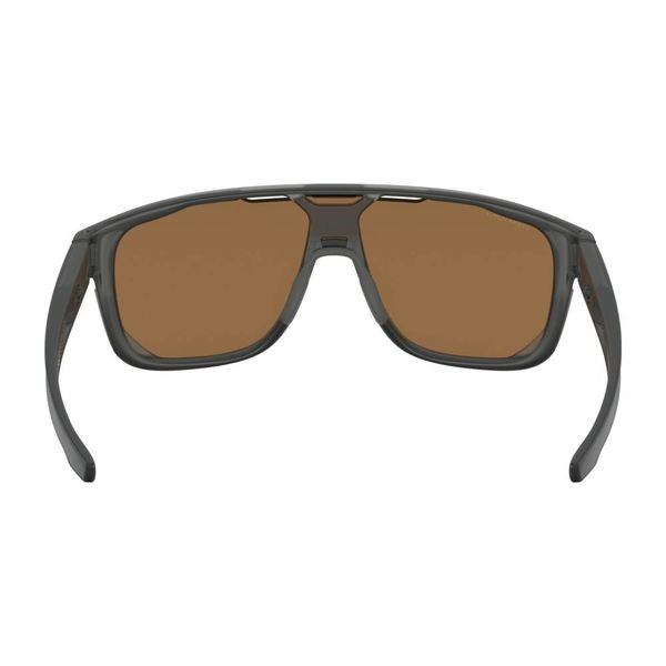 Oakley Crossrange Shield Matte Grey Smoke Prizm Ruby Zonnebril