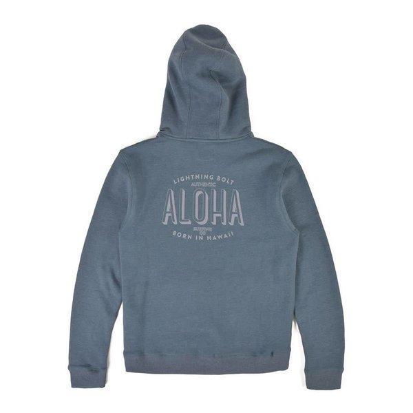 Lightning Bolt Aloha Fleece Hoodie