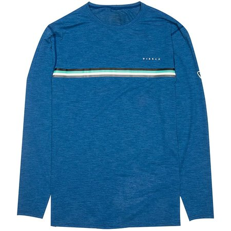 Vissla Vissla Heren The Trip Royal Heather Lycra Long Sleeve