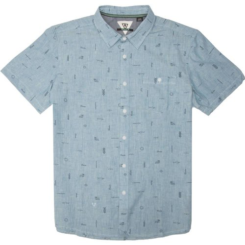 Vissla Vissla Heren Gado Gadoo Breaker Blue Heather Shirt