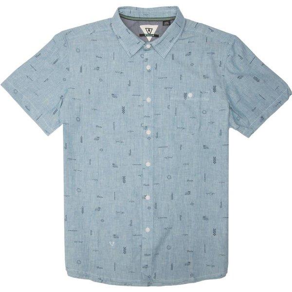 Vissla Heren Gado Gadoo Breaker Blue Heather Shirt