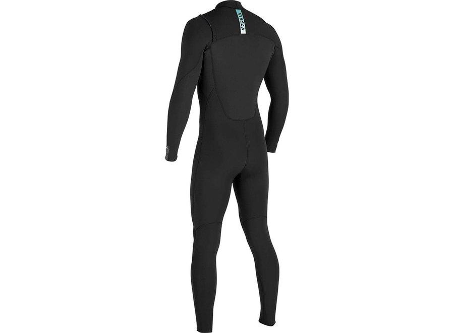 Vissla 7 Seas 3/2 Heren Wetsuit Black/Jade