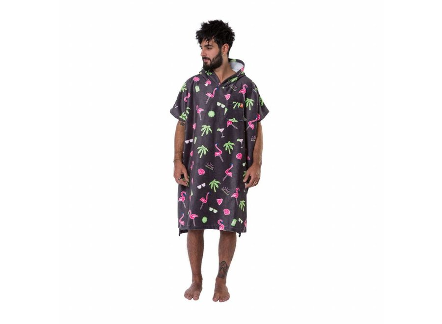 After Surf Poncho Paradise Anthra