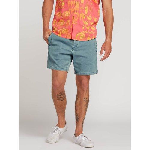 Volcom Volcom Heren Flare Shorts Vintage Blue