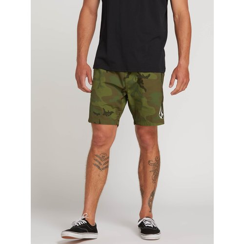 Volcom Volcom Heren Deadly Stones Shorts Camouflage