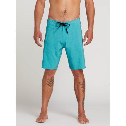Volcom Volcom Men's Lido Solid Mod Boardshorts Cyan Blue
