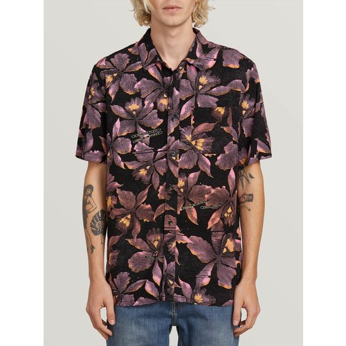 Volcom Volcom Heren Resorto Vallerta Shirt Neon Pink