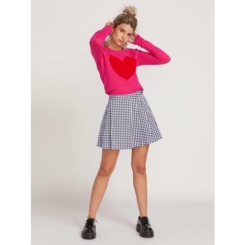 Volcom Volcom Dames GMJ Frochickie Skirt Midnight Blue
