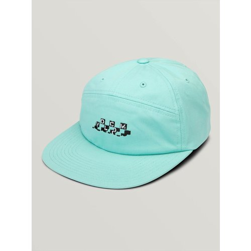 Volcom Volcom Broken Check Hat Pale Aqua