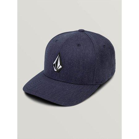 Volcom Volcom Full Stone XFit Hat OS Navy Heather