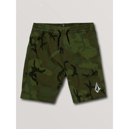 Volcom Volcom Kids Deadly Stones Shorts Camouflage