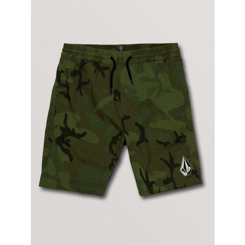 Volcom Volcom Children's Deadly Stones Shorts Camouflage