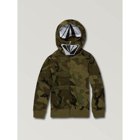 Volcom Volcom Children's Cool Stone Full Zip Hoodie Camouflage