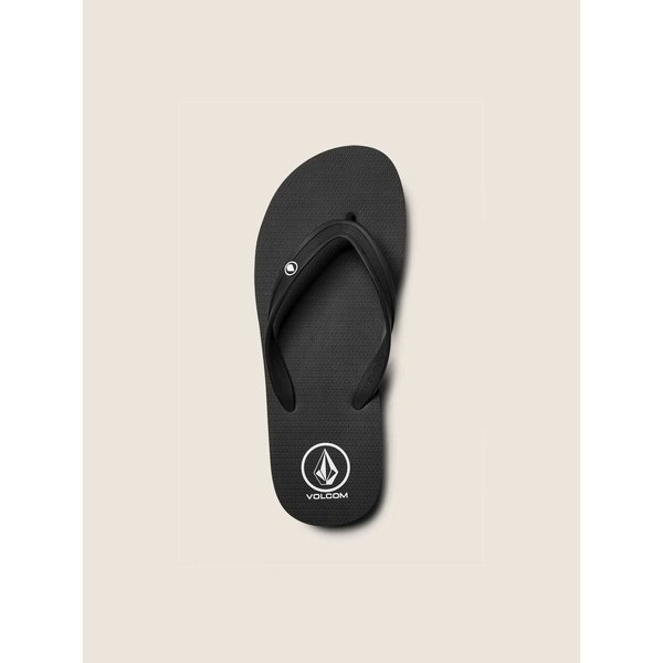 Volcom Men's Rocker 2 Solid Slippers Black