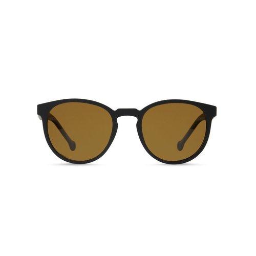 Parafina Parafina Camino Widow Black Sunglasses