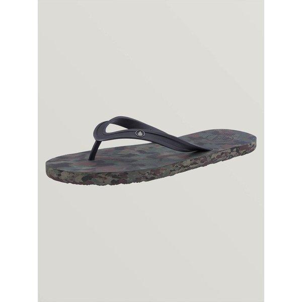 Volcom Heren Rocker 2 Solid Slippers Dark Camo