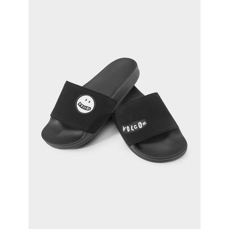 Volcom Volcom Dames Dont Trip WOS Slides Slippers Black