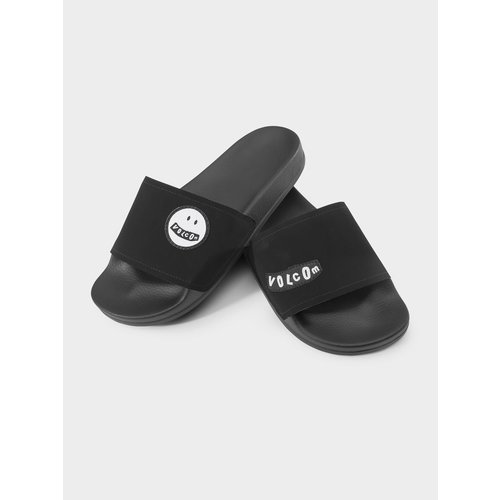 Volcom Volcom Dames Dont Trip WOS Slides Slippers Black