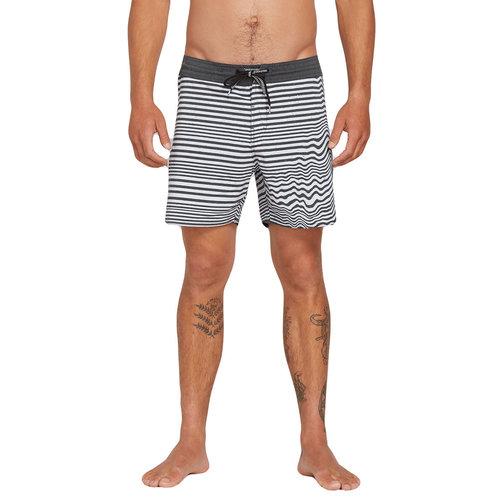 Volcom Volcom Heren Aura Stoneys Boardshorts Black/White