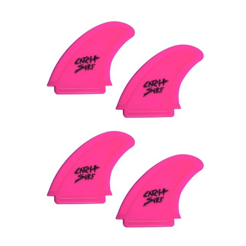 Catch Surfboards Catch Odysea Safety Edge Quad Fin Set Hot Pink
